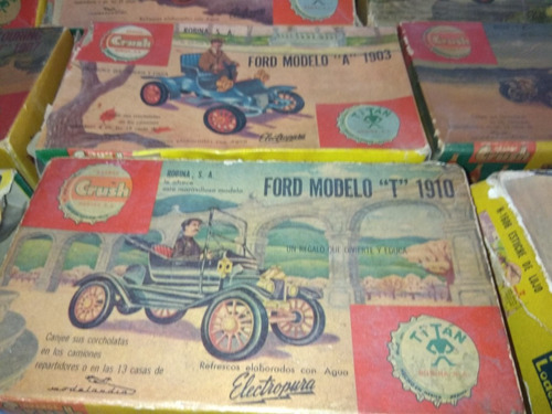 crush titan 13 pz vintage 50s cadillac ford t buick sears