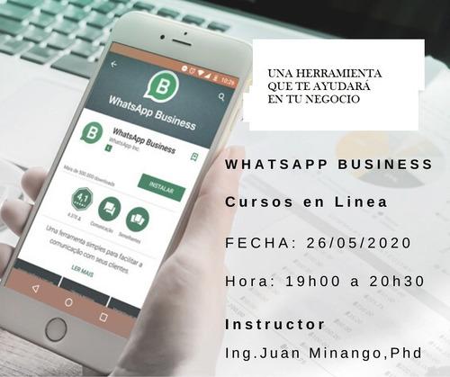 cruso de whatsapp business