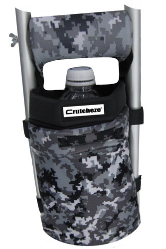 crutcheze digital camo muleta bolso bolsa bolsillo bolsa