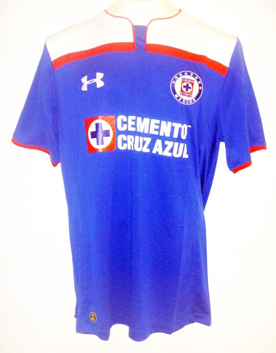 b0488cde78341 Cruz Azul Mundial De Clubes Jersey Playera En Talla X L -   600.00 ...