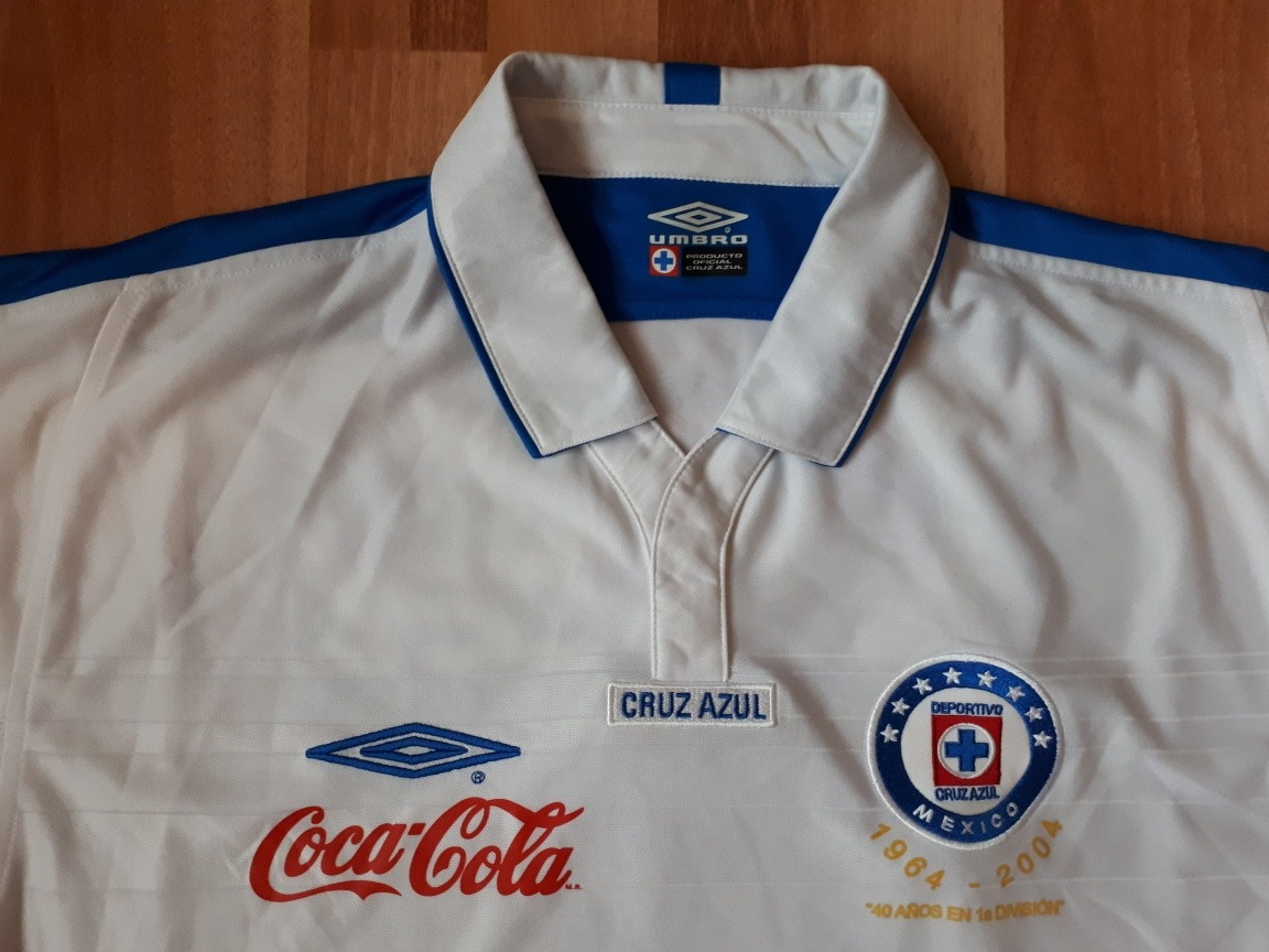 f0cc2ca6b11 Cargando zoom... jersey umbro club cruz azul visita 2004-05 nueva de epoca m