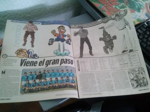cruz azul por la libertadores 2001 previa + boleto vs olmedo