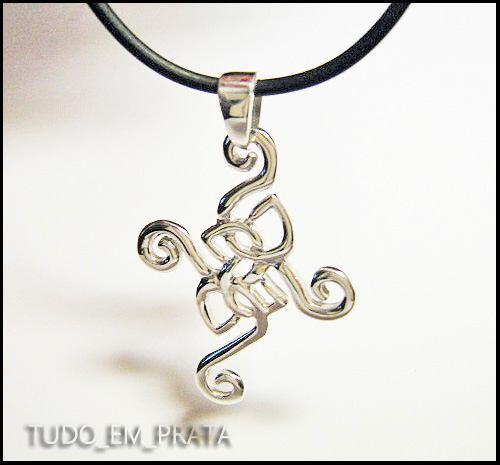 cruz celta em prata