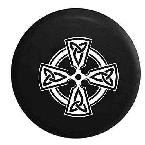 cruz celta nudo irlandés escudo guerrero jeep tire cover de