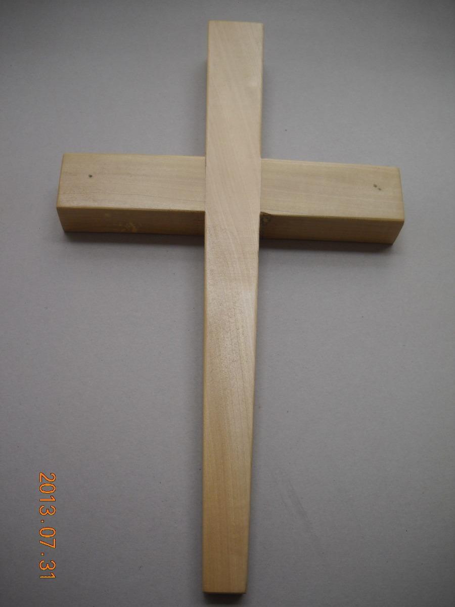 Cruz crucifijo cruz de madera en mercado libre for Fotos en madera