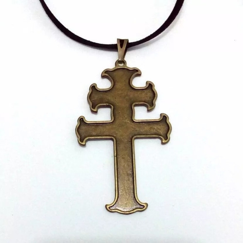 cruz de caravaca abençoada na aparecida do norte
