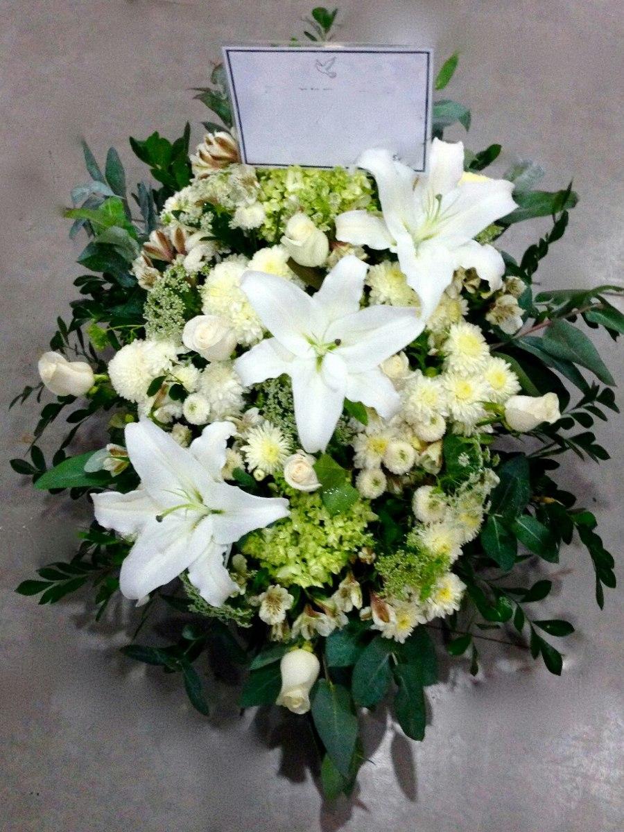 Cruz De Flores Arreglos Florales Para Velorio O Sepelio
