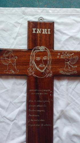 cruz de madera