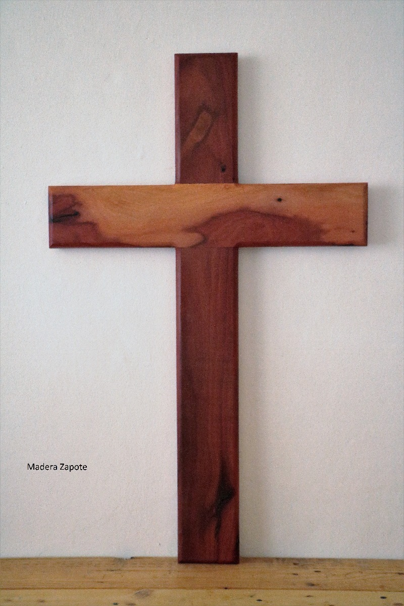Muebles En Merida : Cruz de madera grande zapote o tzalam en