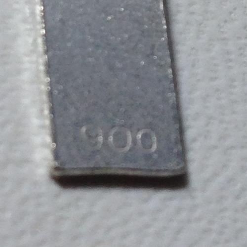 cruz de plata 900 mediana 25 x 15 mm.