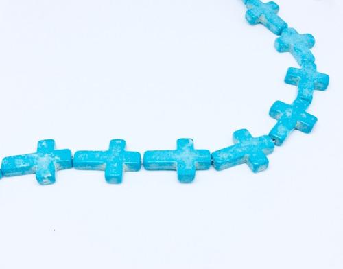cruz howlita beads para bisutería
