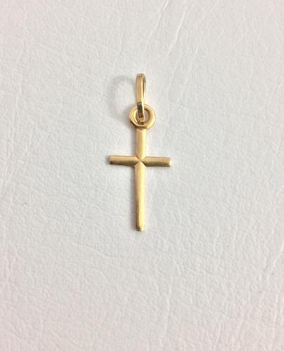 cruz mujer oro 18 kilates