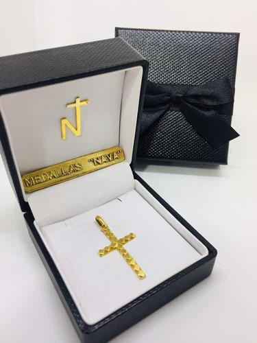 cruz oro 10k rombo #910 bautizó comunión