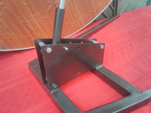 cruz para cabrito al palo, base con extensiones