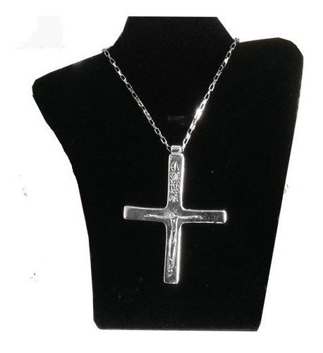 cruz  peitoral brasil 500 anos - folhada a prata