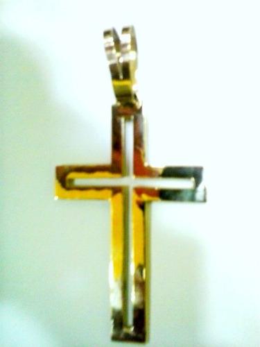 cruz pingente em ouro 18 k 750