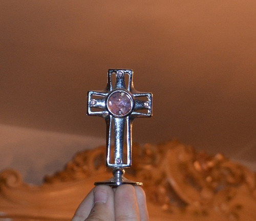 cruz plateada crystocraft.