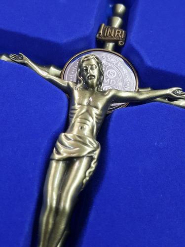 cruz san benito base en acero italiana