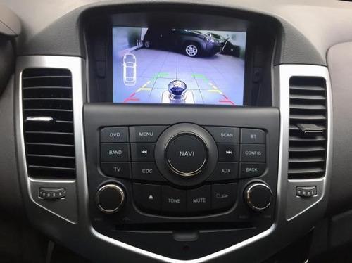 cruze sport lt automatico 2015 azul couro multimidia novo!!!