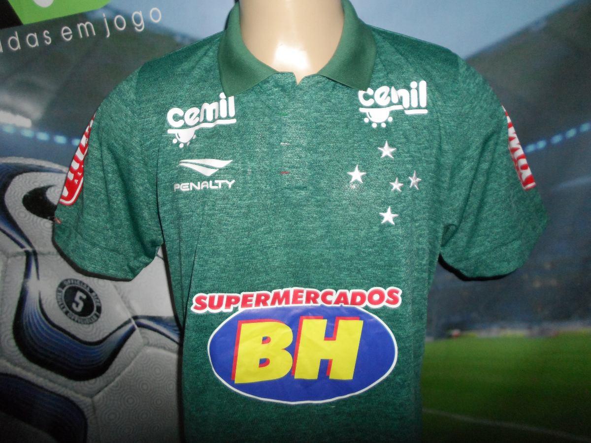 a1504c629692e Carregando zoom... camisa 3 do cruzeiro usada no brasileirão 2015.