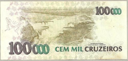 cruzeiros 1993 cédula