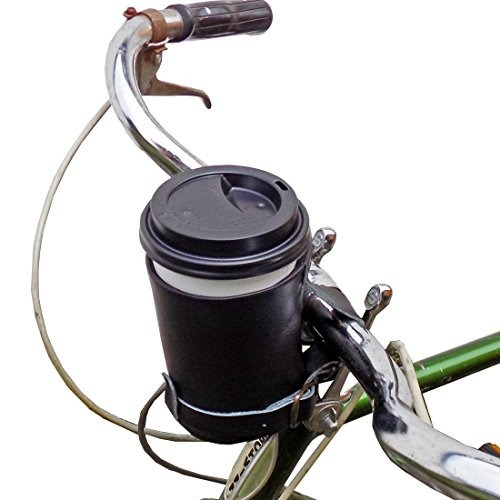 cruzy leather bike cup holder hecho a mano por hide