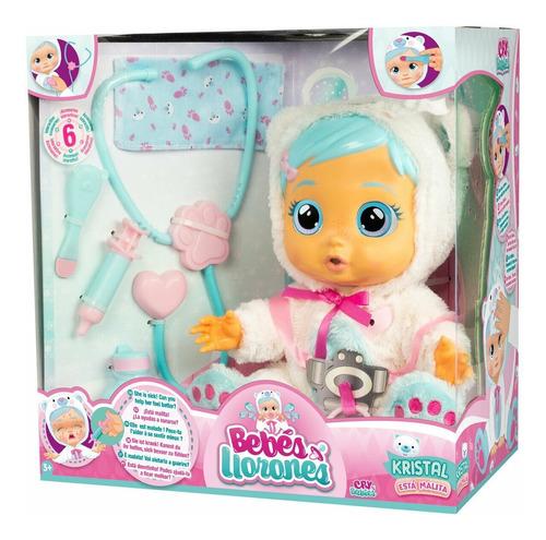cry babies kristal bebe lloron lagrima reales muñeca origina