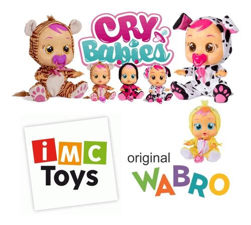 cry babies muñecos bebes lloran de verdad wabro mundo manias