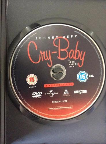 cry baby dvd - edição do diretor - depp