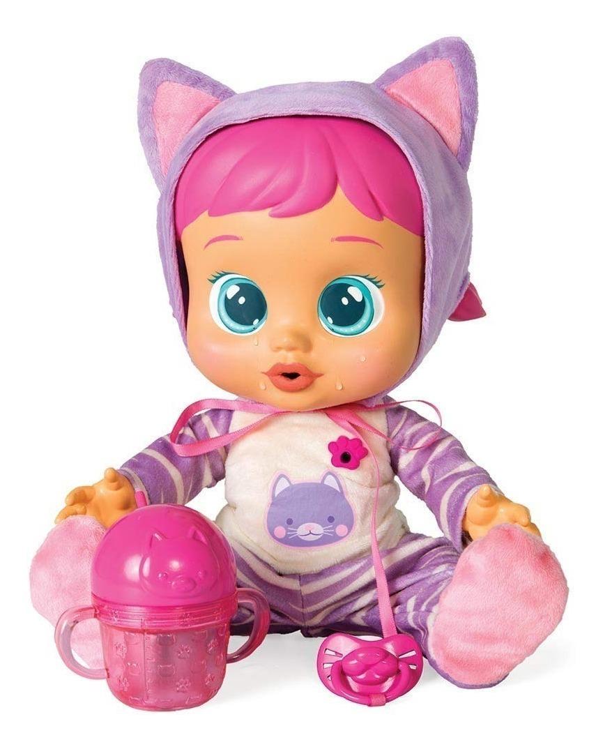 NEW bebes Llorones o Cry Baby de IMC Toys llora con agua real y hace de ruidos