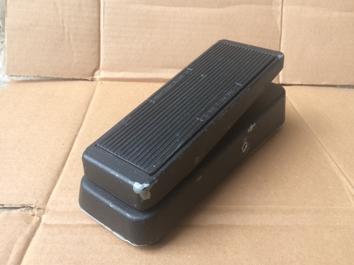 Cry Baby Wah Gcb 95 Dunlop Pedal Guitarra Crybaby Vintage