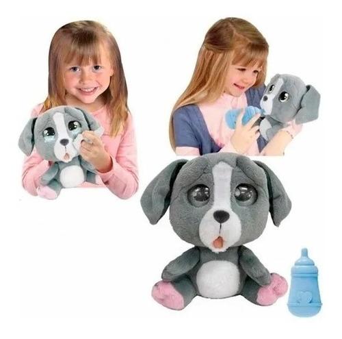cry pets perro peluche interactivo llora lágrimas novedad !!