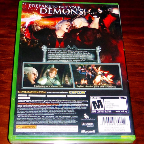 cry xbox 360 devil may