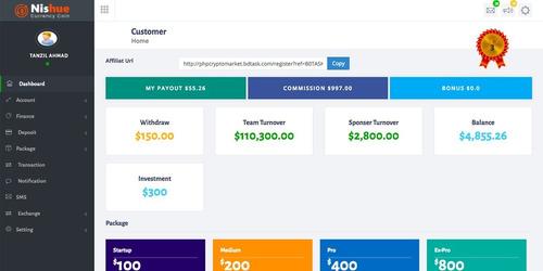 cryptocurrency compre venda troca e empréstimo com sistema m