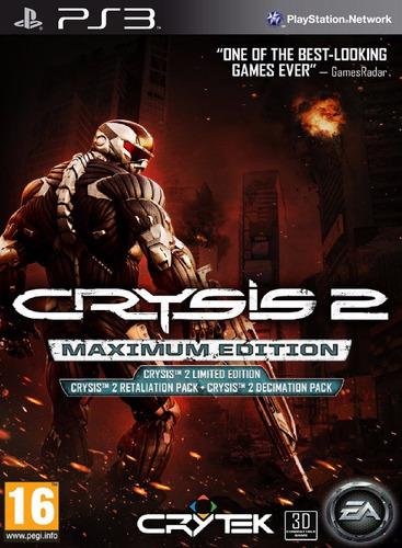 crysis 2 - maximum edition - digital ps3
