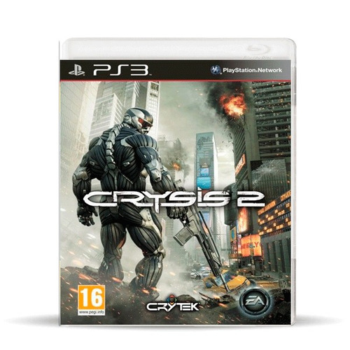 crysis 2 (usado) ps3 físico, macrotec