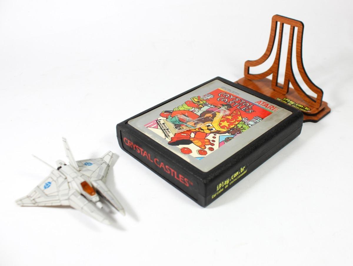Crystal Castles [ Atari 2600 ] Silver Label Original Import