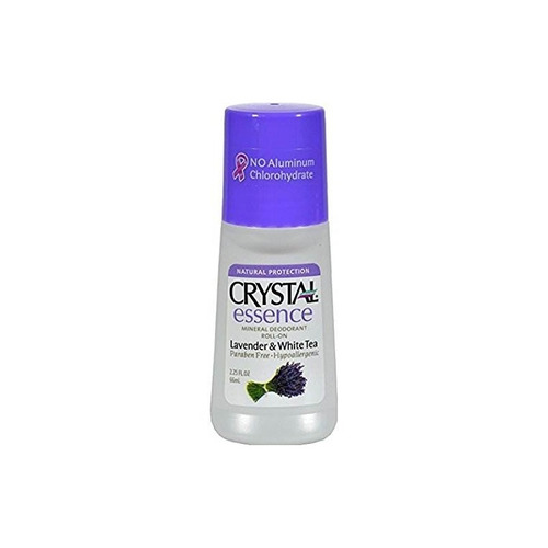 crystal desodorante essence roll-on 2.25 oz lavanda / té bla