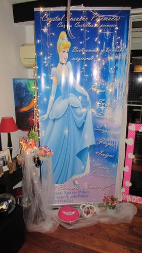 crystal ensueño pijamadas: carpas castillo de princesas