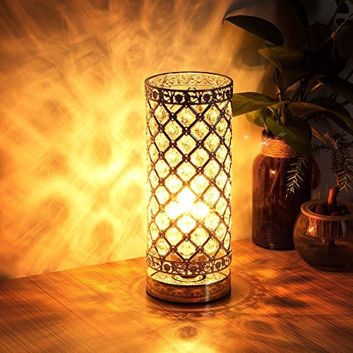 Crystal table lamp touch control dimmable accent desk lamp b crystal table lamp touch control dimmable accent desk lamp b 153192 en mercado libre aloadofball Image collections