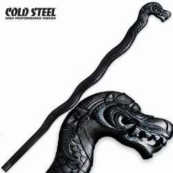cs91pdr cold steel baston dragon walking stick