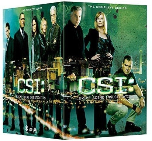 csi: crime scene investigation: the complete series dvd