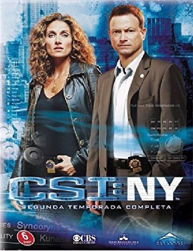 csi ny new york temporada 2 serie tv en dvd