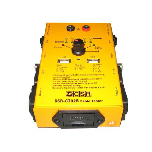 ct 02 b - testador de cabos ct02b csr