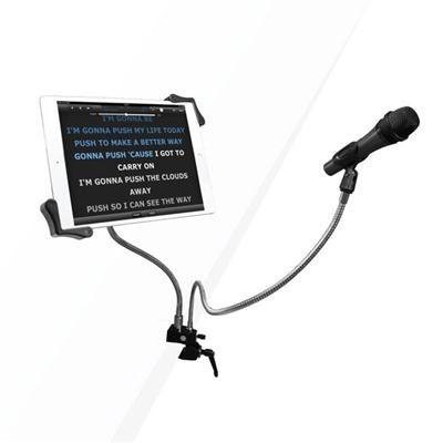 cta digital pad-mtg micrófono de clip y 7-13 pulgadas titul