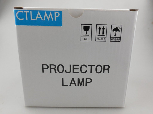 ctlamp lámpara de proyector de recambio cs.5j0dj.001 con cub
