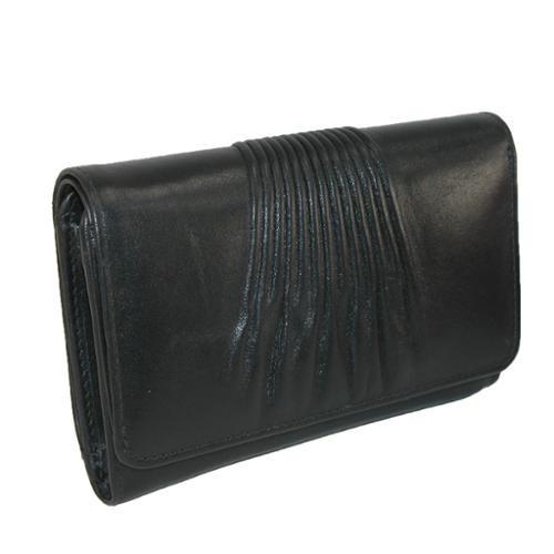 ctm® mujeres cuero rfid protegido pequeño bilfold