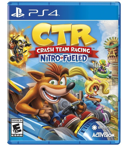 ctr crash team racing nitro fueled ps4 fisico envio gratis