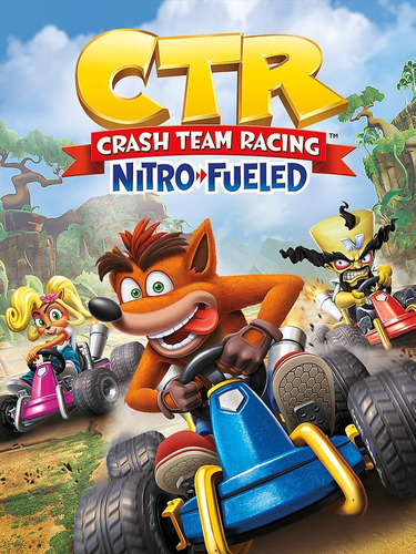 ctr - crash team racing: nitro  ps4, nuevo sellado  físico