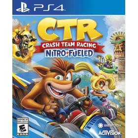 Ctr Crash Team Racing Ps4 + Paquete Skin Dlc